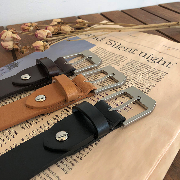 30mm GVC Fire-Leather Belt (3color)