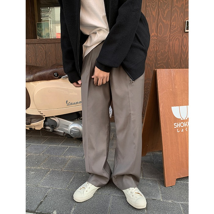 Leo Bijo Wide Slacks (3color)