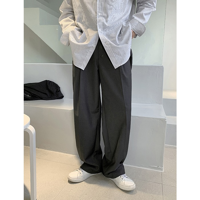 Structure One-Tuck Slacks (3color) [5.11 Restock]