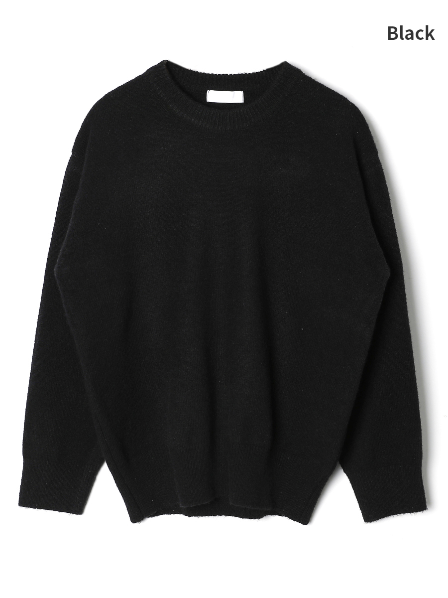 long sleeved tee charcoal color image-S1L9