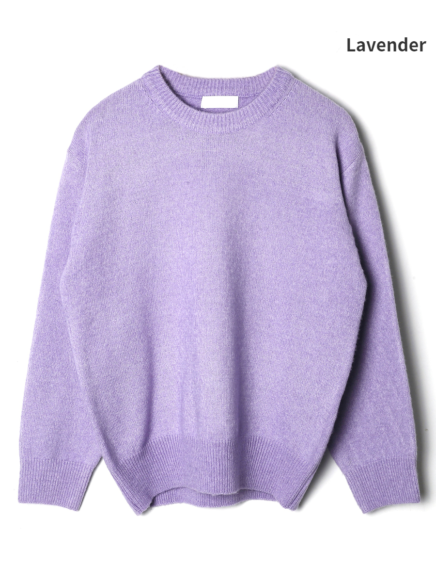 long sleeved tee lavender color image-S1L13