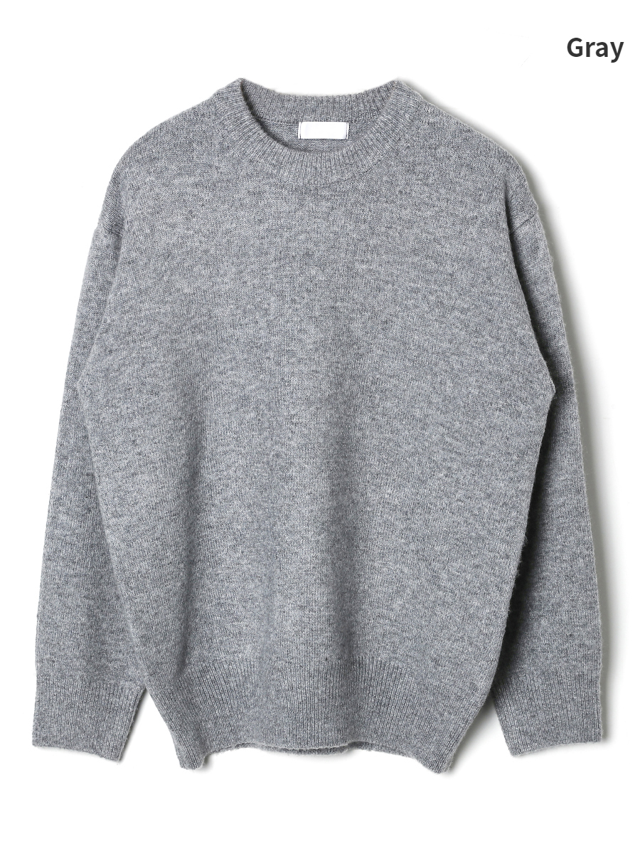 long sleeved tee grey color image-S1L12