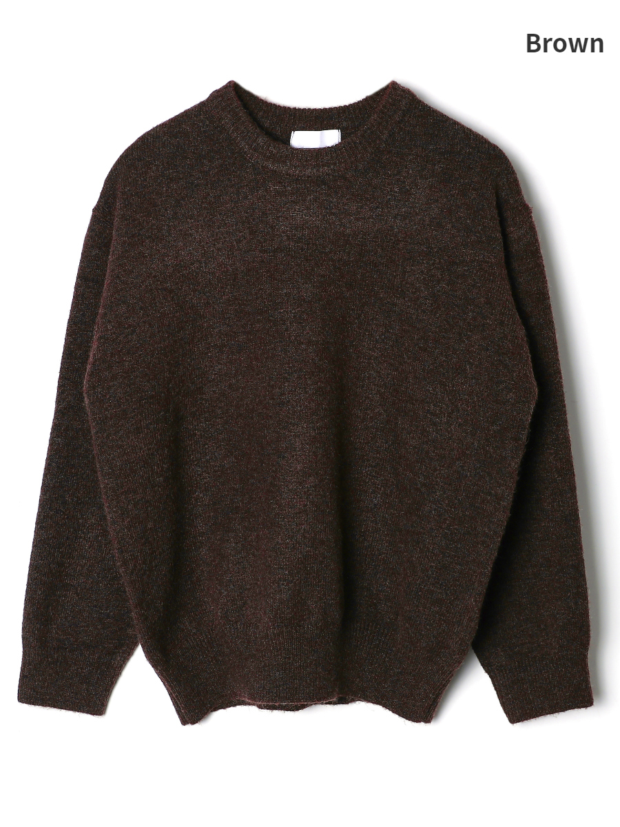 long sleeved tee brown color image-S1L11