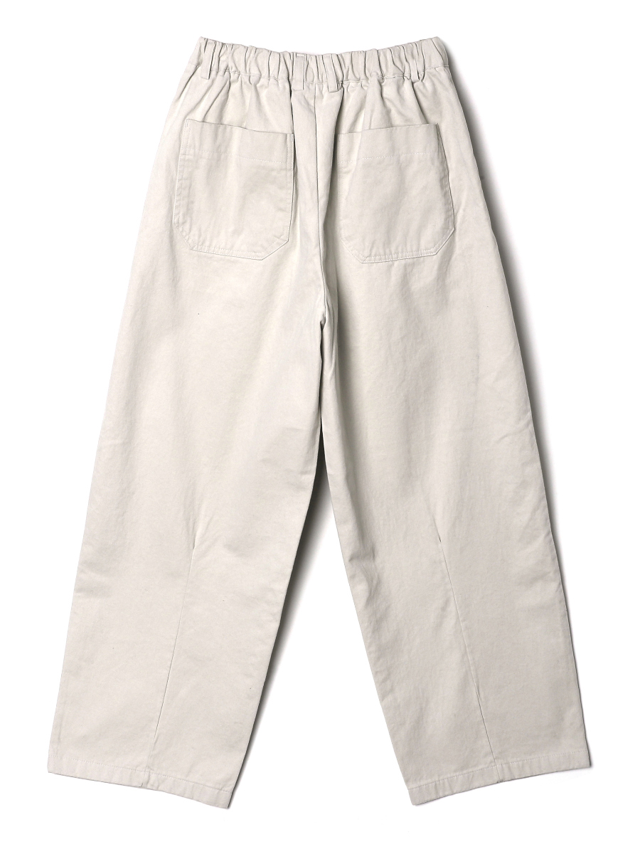 Pants white color image-S1L9