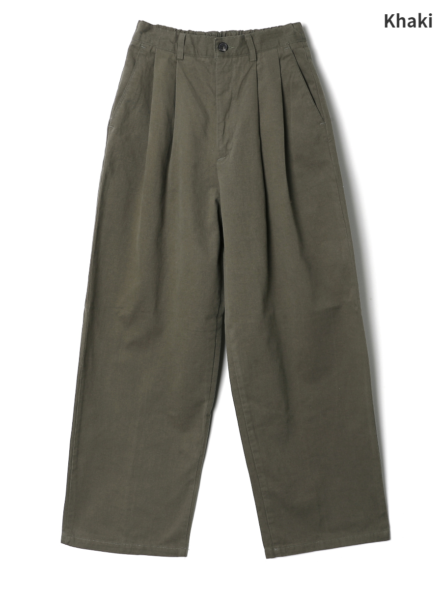 Pants oatmeal color image-S1L13