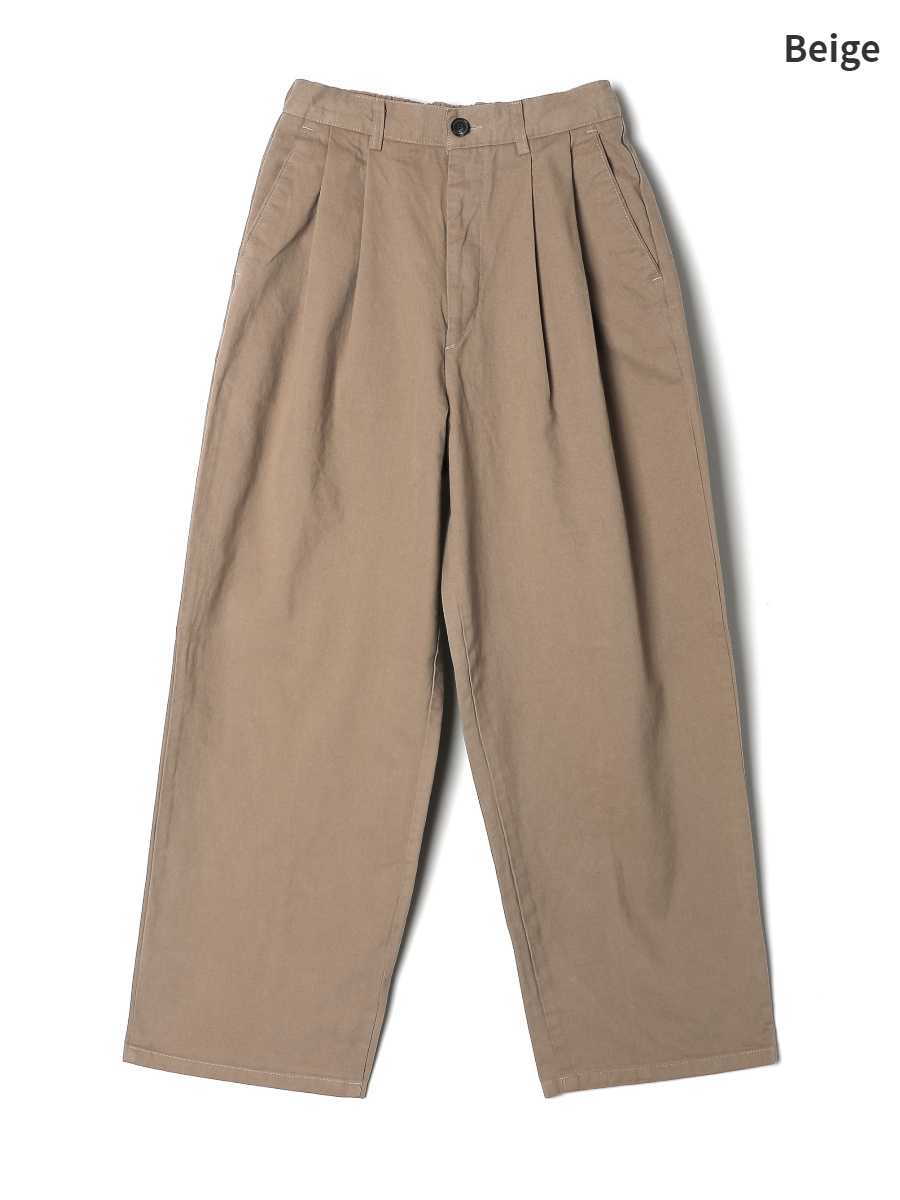 Pants mustard color image-S2L1