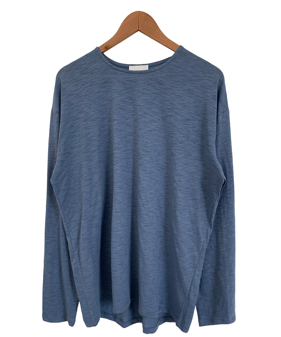long sleeved tee color image-S5L12