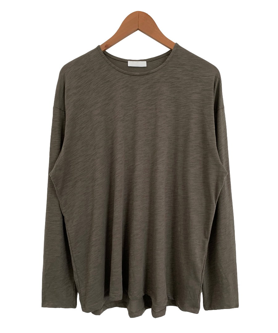 long sleeved tee color image-S5L11
